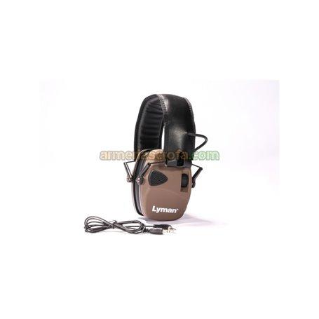 Cascos Lyman Electronic Hearing Protection Color Marrón Lyman Products Armeria Scrofa