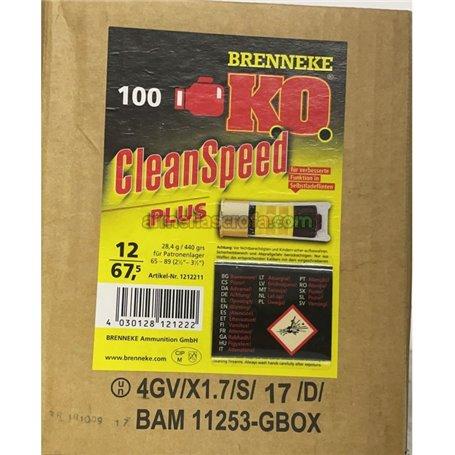 Cartuchos Brenneke Cal.12/67.5 Caza 28.4gr K.OCleanspeed 100 Original Brenneke Armeria Scrofa