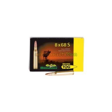 Cart. Brenneke Cal. 8x68S - 220gr TOG Caja 20 un. Original Brenneke Armeria Scrofa