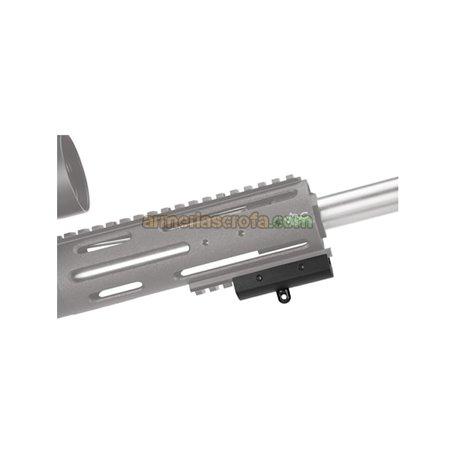 Adaptador para colocar un bípode en un carril Picatinny Caldwell Armeria Scrofa