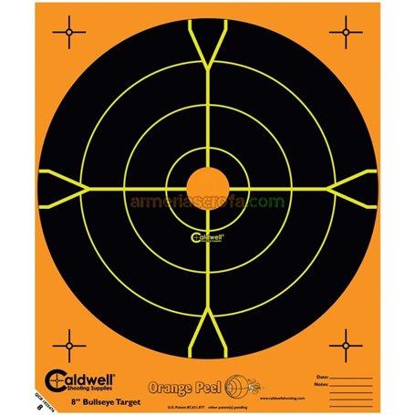 "Diana fluorescente 8"" naranja (10 Unid) Caldwell Armeria Scrofa"