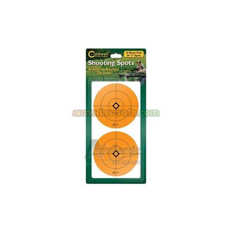 "Dianas fluorescentes 3"" naranja ,adhesivas (2x12 uni Caldwell Armeria Scrofa"
