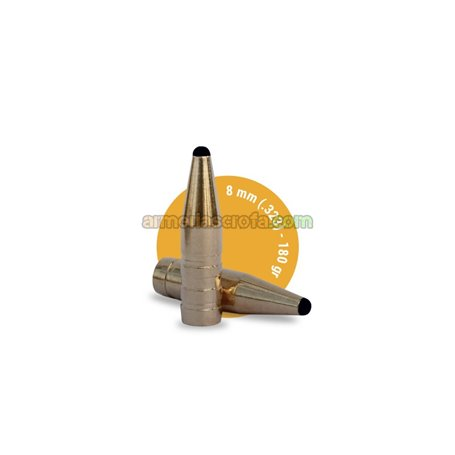 Puntas Cal. 8mm-180Classic Hunter FOX 50unid Fox Bullets Armeria Scrofa