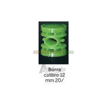 Tacos de plástico de 20mm. Cal. 12, (100 Un.) Gualandi Gualandi Armeria Scrofa