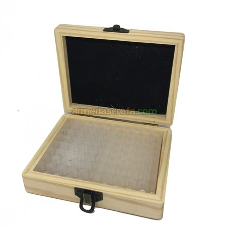 Caja de madera Cal. 32 80 uni. Headshot Armeria Scrofa
