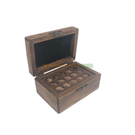 Caja de madera Cal. 45 15 uni. Headshot Armeria Scrofa